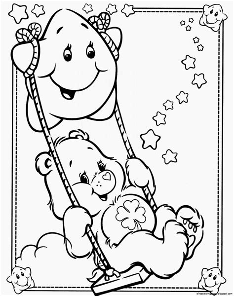 Carebears Coloring Pages care bears coloring pages free coloring pages