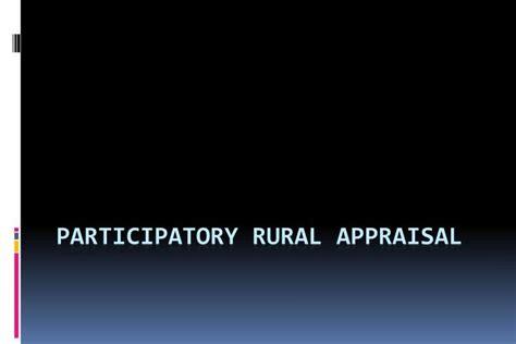 Pra Participatory Rural Appraisal ppt participatory rural appraisal powerpoint presentation id 6769133
