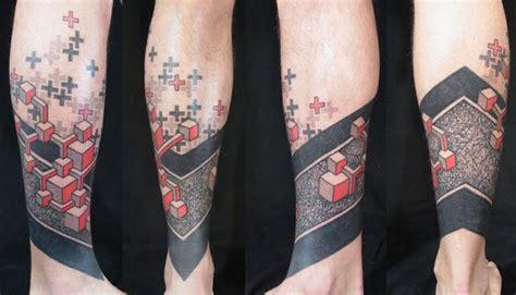 geometric tattoo winnipeg bold colorful geometric by marco galdo milan italy