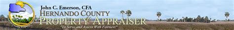 Hernando County Florida Property Records Home Page Hernando County Property Search