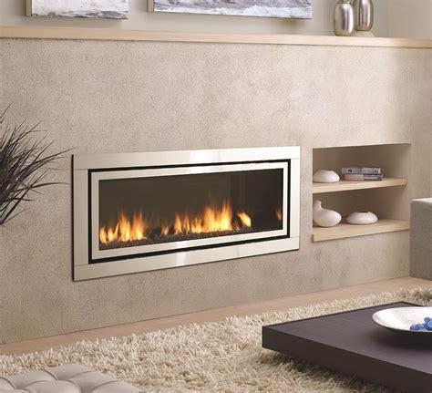 Ribbon Fireplaces by Gas Fireplaces Horizon Hz54e Kastle Fireplace
