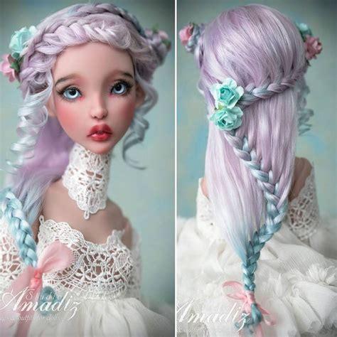 porcelain doll wigs 455 best porcelain faces images on bjd china