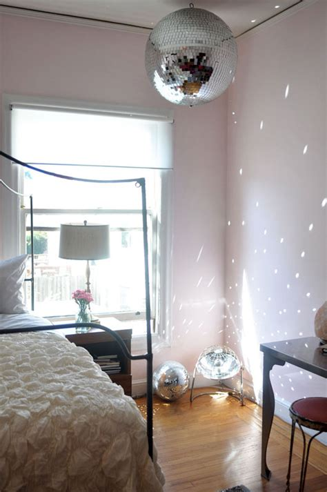 bedroom disco ball celebratory decay sfgirlbybay