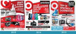 target thanksgiving black friday ad what to expect from the 2016 target black friday ad
