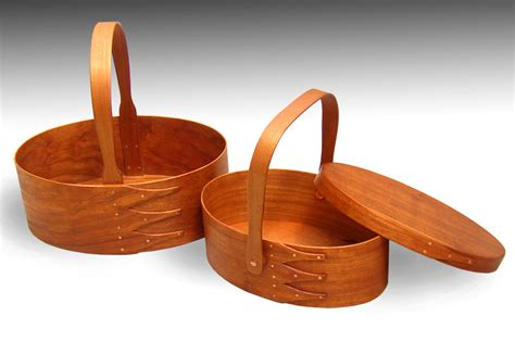 shaker oval boxes cherry finewoodworking