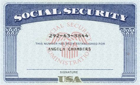 Social Security Card Template For Sale by Modify Your Novelty Dl Ssn Within 1hours By Clippingpath247