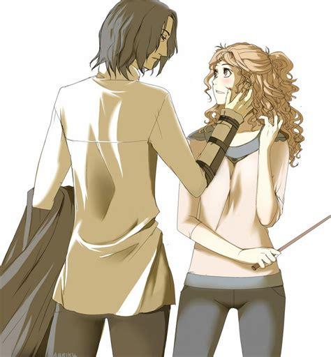 Hermione Granger X by Harry Potter Severus Snape X Hermione Granger Snanger