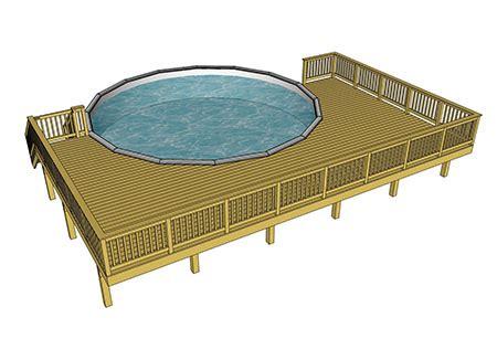 Diy Home Design Easy decks com free plans