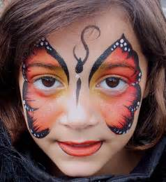 The best butterfly face body painting