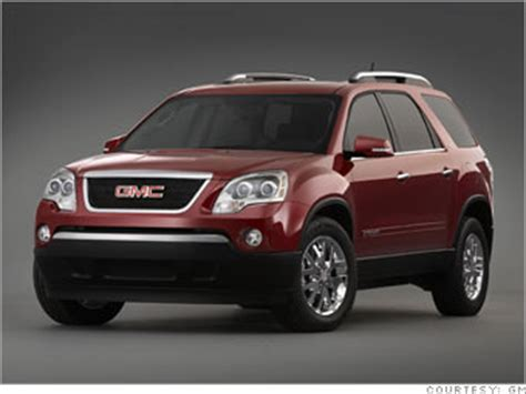 how can i learn about cars 2007 gmc acadia electronic throttle control 13 great fuel efficient cars gmc acadia 8 cnnmoney com