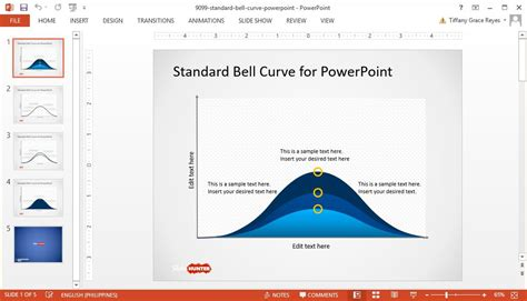 0059 standard bell curve powerpoint template teckfly