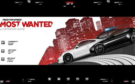 download theme windows 7 need for speed need for speed rainmeter skin