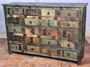 Distressed Buffet Sideboard Dishfunctional Designs Upcycled Dressers Painted