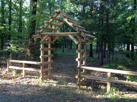 Landscape Timbers Cabin Landscape Timbers Arbors And Landscapes On