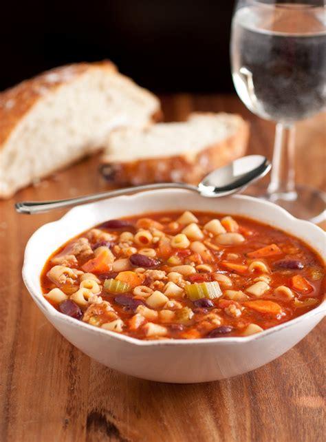 cooking olive garden pasta e fagioli soup copycat recipe