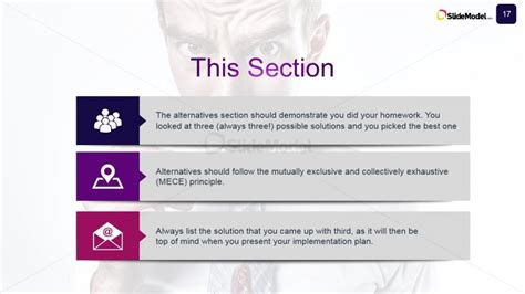 case study business alternative options slidemodel