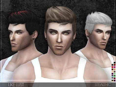 sims 4 cc hair for guys no transparency issues found in tsr category sims 4 male