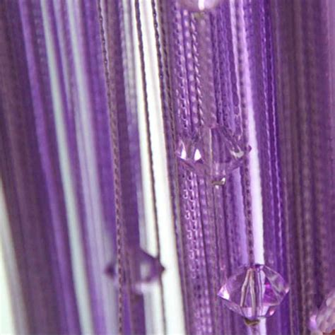 beaded string curtains purple beaded string curtain