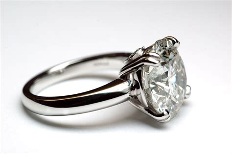 platinum solitaire traditional solitaire rings