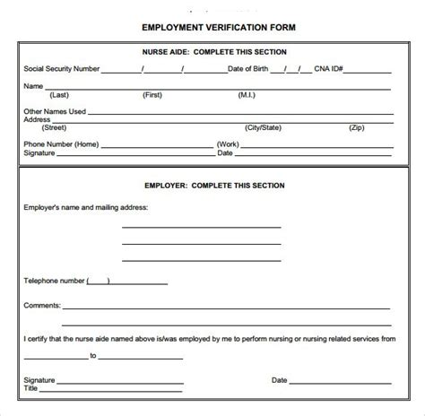 employment verification letter for green card 28 images