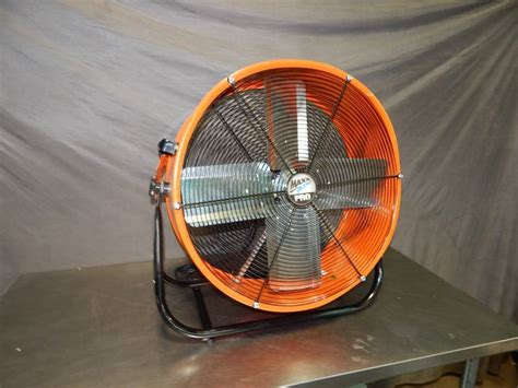 max fan pro max air pro 24 quot barrel fan huge auction of portable a c