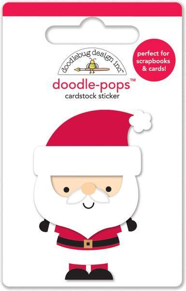 doodle pop doodlebug design santa express collection
