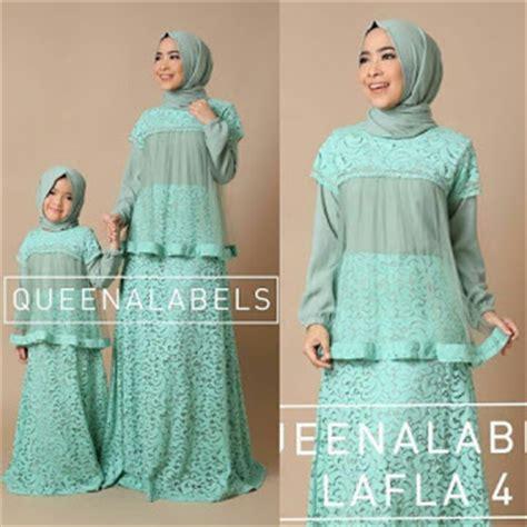 Baju Muslim Batik Ibu Dan Anak Baju Muslim Ibu Dan Anak