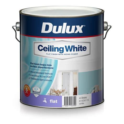 Ceiling White Dulux dulux 4l ceiling white paint bunnings warehouse