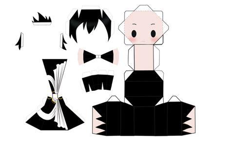 Anime Chibi Papercraft - zeref chibi papercraft by skywalkerfault on deviantart