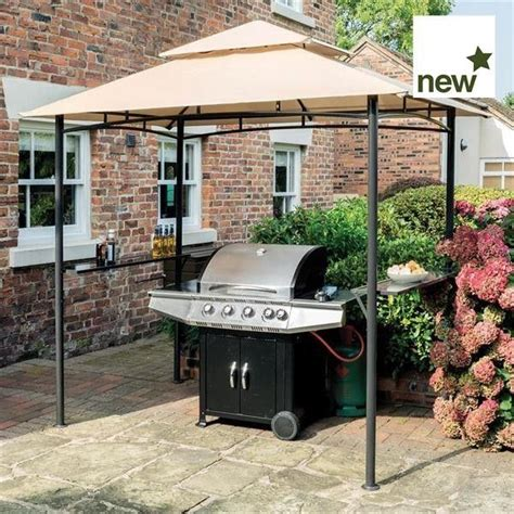 barbecue awning roma bbq gazebo pallet projects for daniel pinterest