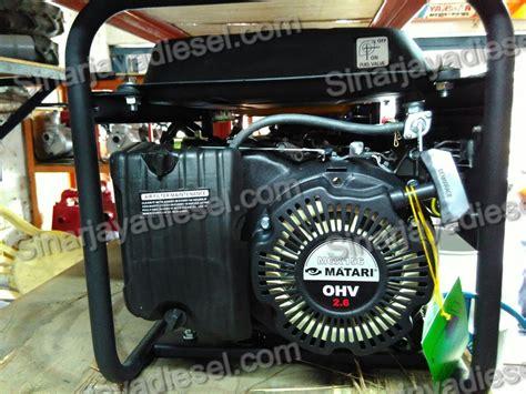 Harga Genset Matari 5000 Watt genset matari mec2500 1000watt sinar jaya diesel