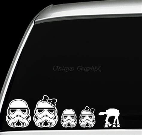 Auto Sticker Star Wars by 60 Autocollants Star Wars Pour Voiture Et D 233 Coration
