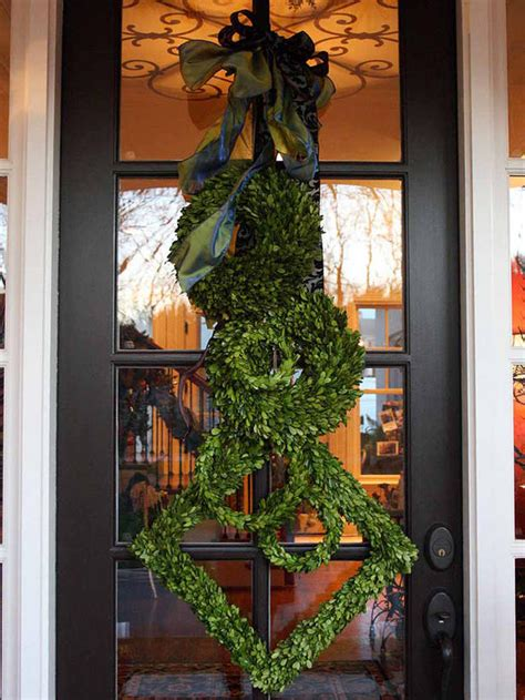 Unique Front Door Decor Winter Wreaths And Door Decor Page 03 Decorating Home Garden Television