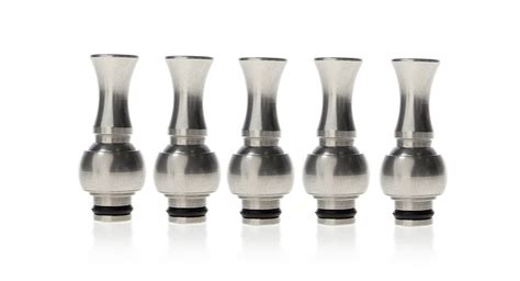 Vivi Rotatable Drip Tip 510 7 85 rotatable stainless steel drip tips for 510 vivi dct 5 pack 5 pack at fasttech