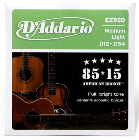 String Guitar Acoustic Daddario Unpacking 011 d addario acoustic guitar strings 85 15 bronze 012 054