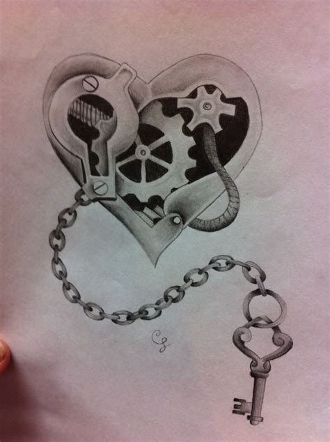 key to my heart tattoo key to my idea inspiration