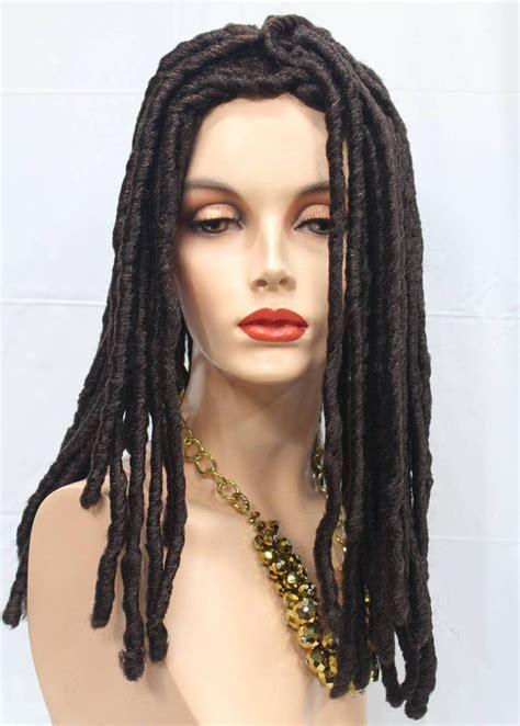 dreadlock wigs for women dreadlock wigs for wigs by mona lisa 174 short dreadlock