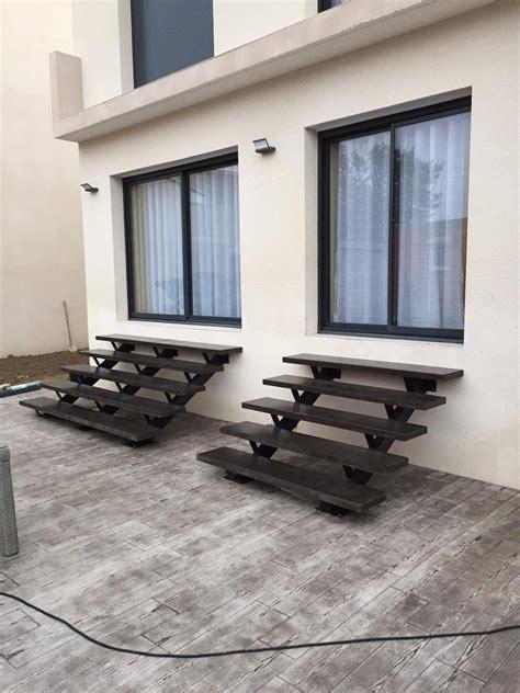 Escalier En Beton by Escalier Ext 233 Rieur En B 233 Ton Pr 233 Fabriqu 233 Sur Mesure