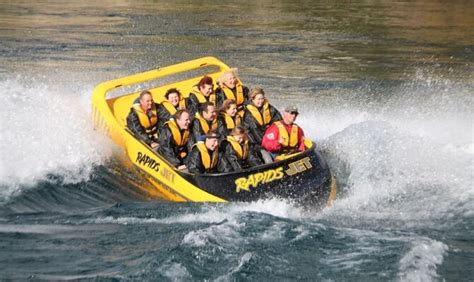 jet boat rapids white water rapids jet boating taupo backpaker deals
