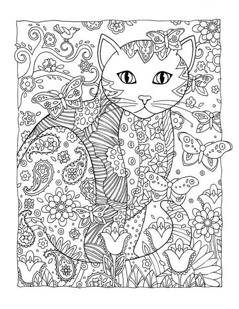 cat coloring pages hard раскраски антистресс скачать в хорошем качестве
