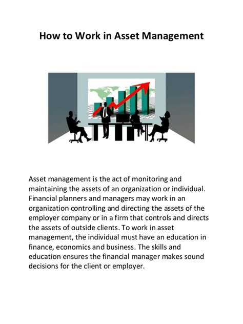 Executive Mba In Asset And Wealth Management by How To Work In Asset Management