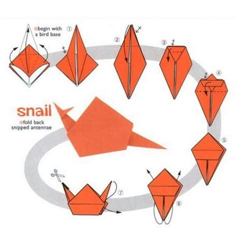 cara membuat kolase siput marine origami cara membuat hiasan dinding kelas dari