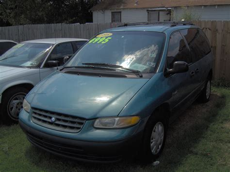 2001 plymouth voyager image gallery 2001 plymouth voyager