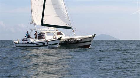 sailing thailand island cruises catamaran charter tiki - Wharram Catamaran Charter
