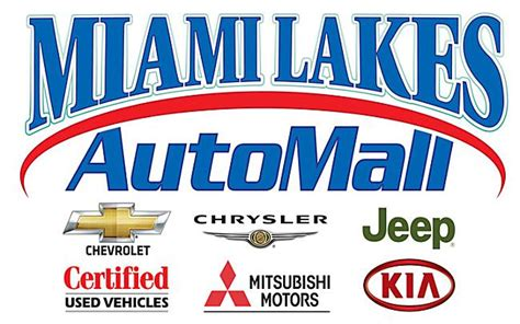 Miami Lakes Chrysler Jeep Dodge by Miami Lakes Automall Chevrolet Kia Dodge Chrysler Jeep