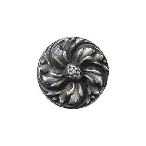 Knob Hill Hardware by Brilliant Pewter River Iris Knob Notting Hill Decorative