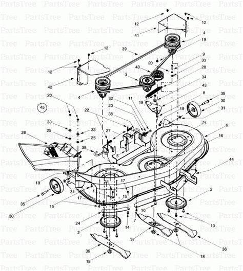 yardman mower deck belt diagram mtd 46 inch deck belt diagram iplimage php illustration