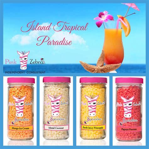 Mango Original Pink pink zebra sprinkles recipe pineapple papaya coconut