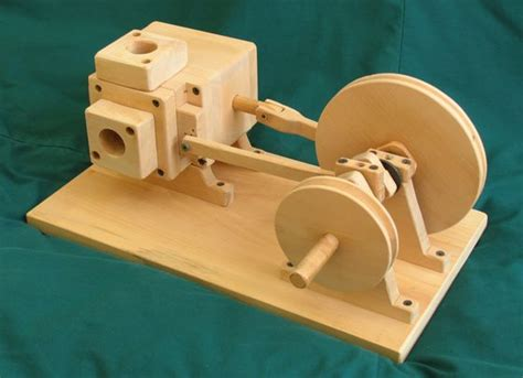 woodworking motors wooden air engine 1