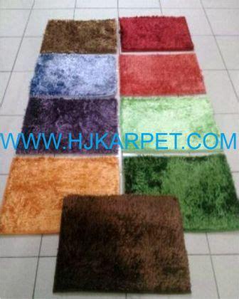 Karpet Permadani Bekasi karpet chennile cendol hjkarpet